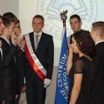 Ufundowanie Sztandaru LCKZiU oraz Ślubowanie uczniów.